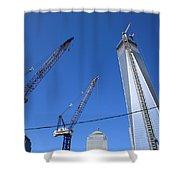 New York City Freedom Tower Shower Curtain