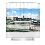 New York City New York - The Polo Grounds - 1900 Shower Curtain