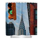 New York City, New York State, United Shower Curtain