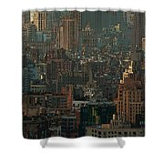 New York City Posterized Shower Curtain