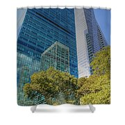 New York City Reflections Shower Curtain