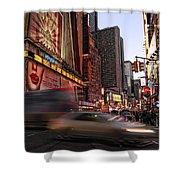 New York City Rush Shower Curtain