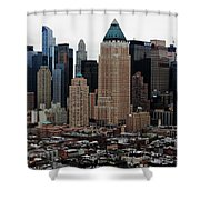 New York City Skyline 19 Shower Curtain