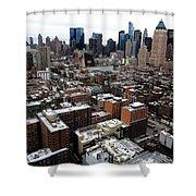New York City Skyline 20 Shower Curtain