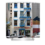 New York City Storefront 5 Shower Curtain