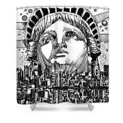 New York City Tribute Shower Curtain