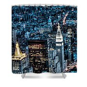 New York City Triptych Part 1 Shower Curtain