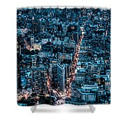 New York City Triptych Part 2 Shower Curtain