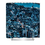 New York City Triptych Part 3 Shower Curtain