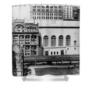 New York Curb Market, 1921 Shower Curtain