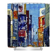 New York Dreams Shower Curtain