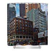 New York Energy Shower Curtain