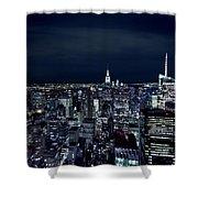 New York Evening Shower Curtain