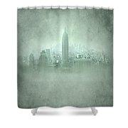 New York Fantasy Shower Curtain