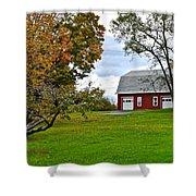 New York Farm Shower Curtain