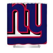 New York Giants Football 2 Shower Curtain