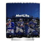 New York Giants Metlife Stadium Shower Curtain