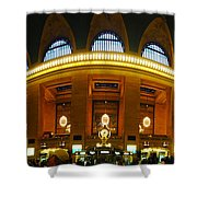 New York - Grand Central Station Shower Curtain