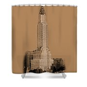 New York Landmarks 1 Shower Curtain