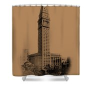New York Landmarks 2 Shower Curtain