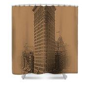 New York Landmarks 3 Shower Curtain