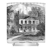 New York: Mansion, 1763 Shower Curtain