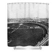New York Motordrome, C1912 Shower Curtain