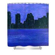 New York Night Shower Curtain