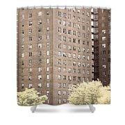 New York Public Housing Shower Curtain