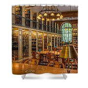 New York Public Library Genealogy Room I Shower Curtain