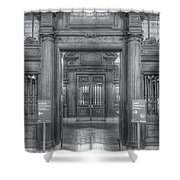New York Public Library Main Reading Room Entrance II Shower Curtain