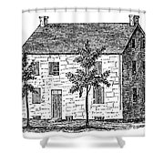 New York Senate, 1777 Shower Curtain