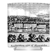 New York Skaneateles Shower Curtain