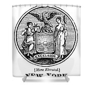 New York State Seal Shower Curtain
