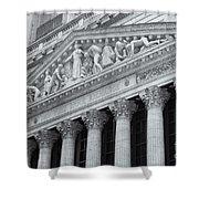 New York Stock Exchange II Shower Curtain