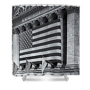 New York Stock Exchange Iv Shower Curtain