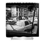 New York Street Photography 14 Shower Curtain