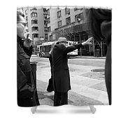 New York Street Photography 16 Shower Curtain