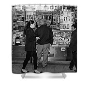 New York Street Photography 18 Shower Curtain