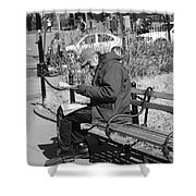 New York Street Photography 2 Shower Curtain