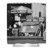 New York Street Photography 6 Shower Curtain by Frank Romeo