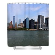 New York Strong Shower Curtain
