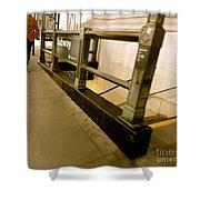 New York Subway Shower Curtain