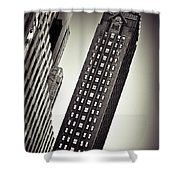 New York Time Shower Curtain