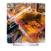 New York Traffic Shower Curtain