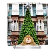 New York Tree Shower Curtain