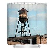 New York Water Tower 7 Shower Curtain