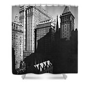 New York's Financial District Shower Curtain