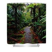 New Zealand Rainforest Shower Curtain