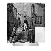 Newark Schuyler Mansion Shower Curtain